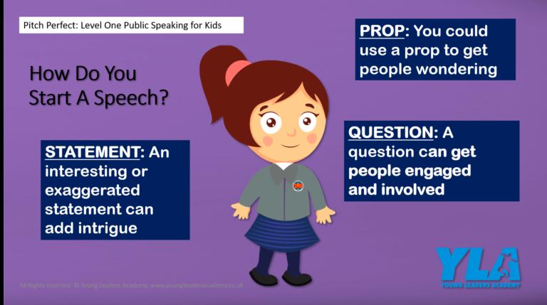 Display board poster to inspire public speaking in your school