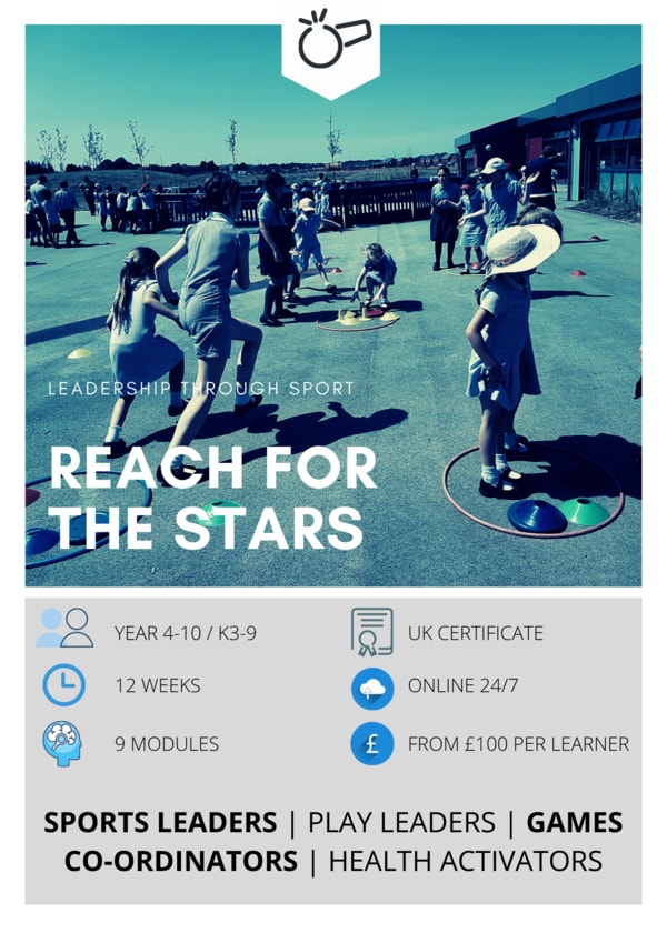 Sports leaders online course, Reach for the Stars